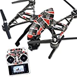 MightySkins Protective Vinyl Skin Decal for Yuneec Q500 & Q500+ Quadcopter Drone wrap cover sticker skins Retro Controllers 3