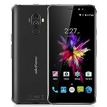 "Ulefone S8 Smartphone 3G Android 7.0 (MT6580A Quad Core 1.3GHz, 5.3"" IPS HD Schermo, 1GB RAM 8GB ROM, 13MP+5MP+5MP Camera, Fingerprint ID, Dual SIM, 3000mAh Batteria, GPS, WIFI) Nero"