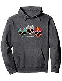 Three Skull Hooded Sweatshirt