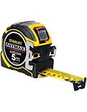 Stanley FatMax Pro bandmaat autolok (5m lengte, 32mm lemmetbreedte, BladeArmor-coating, bi-materiaal behuizing) XTHT0-3
