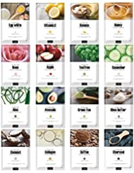Green Grade Cupra Facial Sheet Masks Variety Pack Featuring...