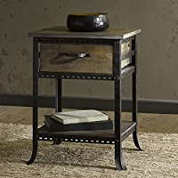 Madison Park Ryder End Table with Drawer, C