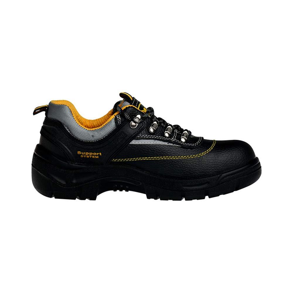 Fuxitoggo Mens Labour Insurance Schuhe Schuhe Schuhe Licht Sicherheit Composite Steel Toe Anti Punctura Schuhe (Farbe   Schwarz Größe   EU 46) a92fcc
