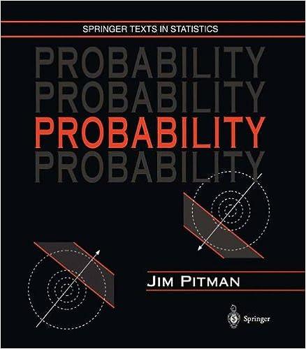 Probability Jim Pitman Pdf