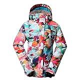 GSOU SNOW Ski Jacket Women Winter Waterproof Windproof Colorful Camo Snowboard Jackets Ski Snow Coats and Pants