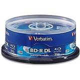 Verbatim BD-R 50GB 6X Blu-ray Recordable Media Disc - 25 Pack Spindle