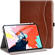 Ztotop for iPad Pro 12.9 Case 2018, Premium Leather Slim Folio Stand Cover for Apple iPad Pro 12.9-Inch 3rd Gen with Auto Sleep/Wake, Charge/Pair with New Apple Pencil, Multi-Angle Viewing, Brown