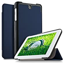 ACER Iconia One 7 B1-7A0 Case,KuGi Ultra Lightweight Slim Smart Cover Case for Acer Iconia One 7 B1-7A0 SD 7-Inch Tablet -BLUE