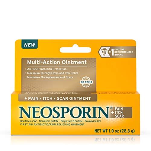 Neosporin Pain Itch Scar