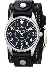 Mens STH095K Black Collection Dial Presition Display Watch