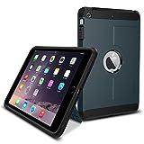iPad Mini 3 Case, iPad Mini 2 Case, Spigen Tough Armor - Extreme Heavy Duty Air Cushioned Protection for Apple iPad Mini 3 (2014) / iPad Mini 2 (2013) - Metal Slate