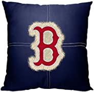 Officially Licensed MLB Decorative Letterman Pillow, Soft & Comfortable, 18&qu