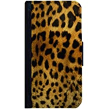 Leopard Pattern Samsung Galaxy S5 Flip Case, Samsung Galaxy S5 Book Style Cover, Pocket Case, Wallet Cover, Flap Case, Bi-Fold Cover, by Sublifascination 85