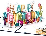 Lovepop Birthday Pop Up Cards - 3D Cards, Birthday Cards, Birthday Cake Card, Pop Up Birthday Cards, Greeting