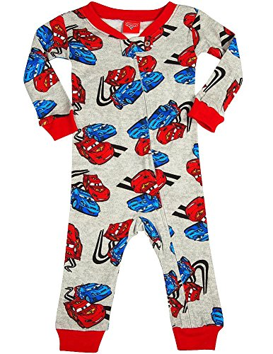Disney Cars - Baby Boys Long Sleeve Cars Coverall