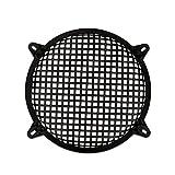 Goldwood Subwoofer Grille and Hardware 10'' Steel Waffle Speaker Woofer Grill Black (SWG-10C)