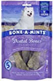 Bone-A-Mints All natural, Wheat-Free Breath Freshening Bone, 8.58-Ounce, Medium, 6-Pack