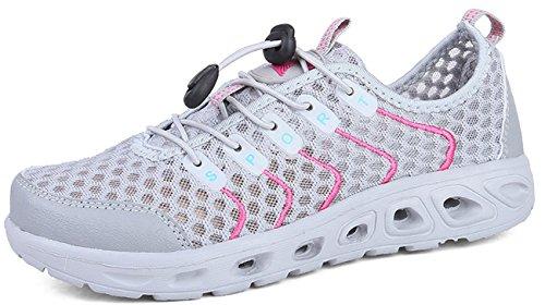 Leisure Grey Light Go Outdoor Quick Tour Shoe Women's Dry Lightweight Shoe 1 Walking Water Slip on Z84Zqa