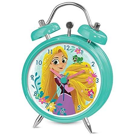 Sveglia Disney Rapunzel - Sveglia in Metallo da 8 cm