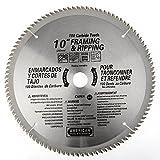 ATE Pro. USA 33085 100 Teeth Carbide Blade, 10''