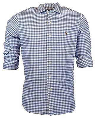 Ralph Lauren Men's Cotton Twill Standard Fit Button-Down Shirt