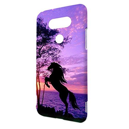 LG G5 Case - Horse Hard Plastic Back Cover  Slim Profile