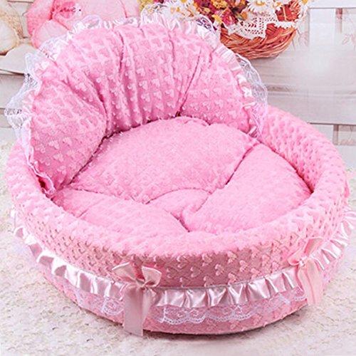 qianle-lace-princess-dog-cat-kitten-puppy-pet-bed-sofa-cushion-pet-house-pinks