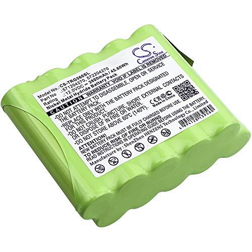 Replacement Battery for Trimble 571204270 572204270 Geodimeter 5600 Focus 10