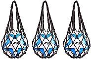 TOLBEST Multifunctional Single Ball Carrier Net Bag Durable Mesh Storage Sports Ball Holder for Basketball Foo