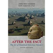 Amazon james west davidson kindle store after the fact the art of historical detection volume i fandeluxe Gallery