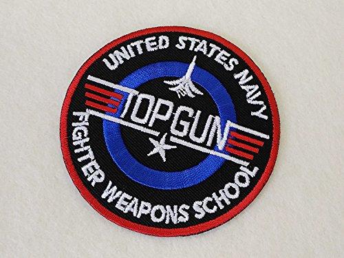 トップガン(アメリカ海軍戦闘機兵器学校)エンブレムワッペンの商品画像