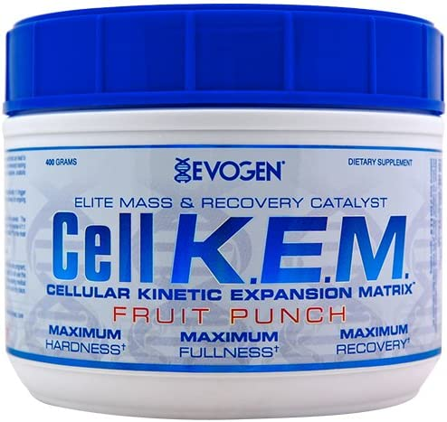 Evogen CellKEM Elite Amino Builder Fruit Punch 40 Servings