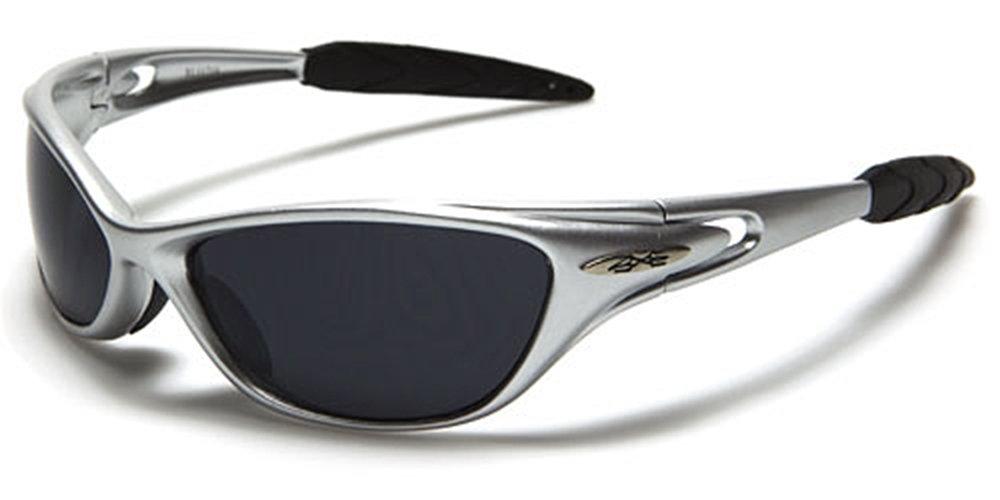Occhiali da Sole X-Loop - Sport - Ciclismo - Sci - Driving - Moto - Arrampicata / Mod. 1170 Grigio / Un formato adulto / 100% Protezione UV-400 Xloop