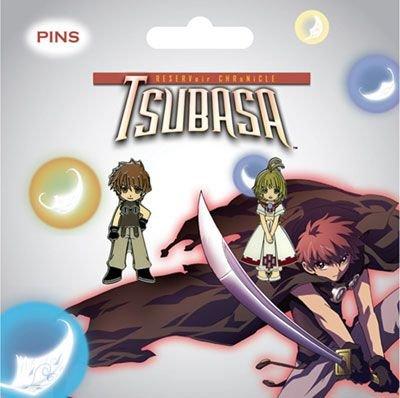 Pin-Set – Tsubasa – New Sakura & Syaoran 2. Set von 2. Syaoran Anime Lizenzprodukt ge7376 54e655
