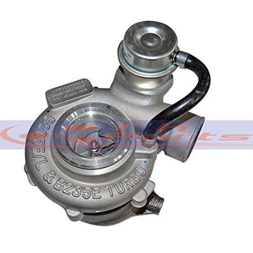 tkparts nueva gt1752s 9172123 452204 - 0001 Cargador de Turbo para Saab 9 - 3/9 - 5 2.0T y 2.3T (modelos a partir de 1997 - 05 motor: B235E/b205e 150hp: ...