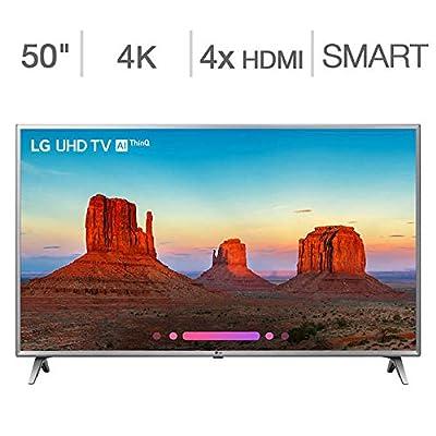 "LG 50"" Class (49.6"" Diag.) 4K Ultra HD LED LCD TV"