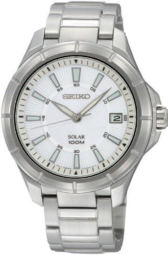 [セイコーimport] 腕時計 SNE077J 逆輸入品 シルバー