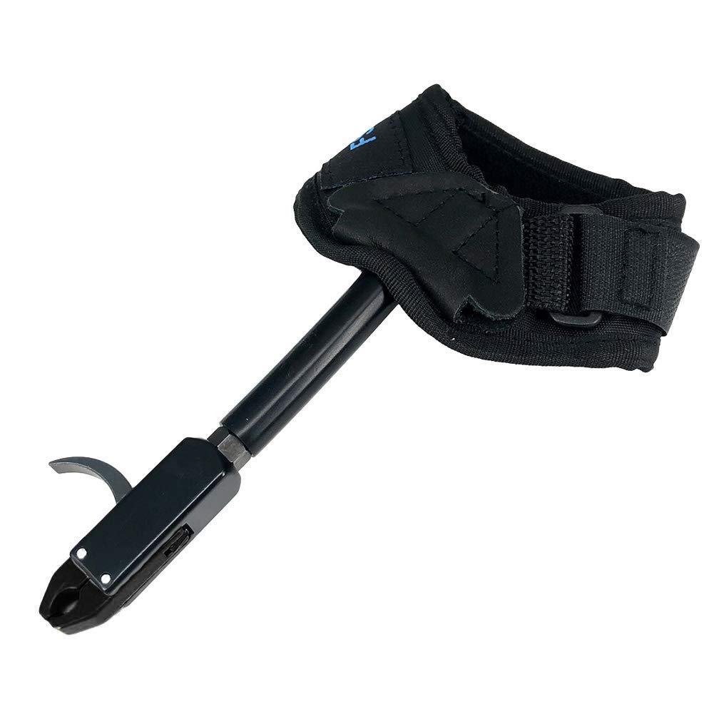 Weesey Bogenschie/ßen Ausl/öser Bogenschie/ßen Compoundbogen Ausl/ösehilfe Verstellbare Handschlaufe Zubeh/ör f/ür die Jagd
