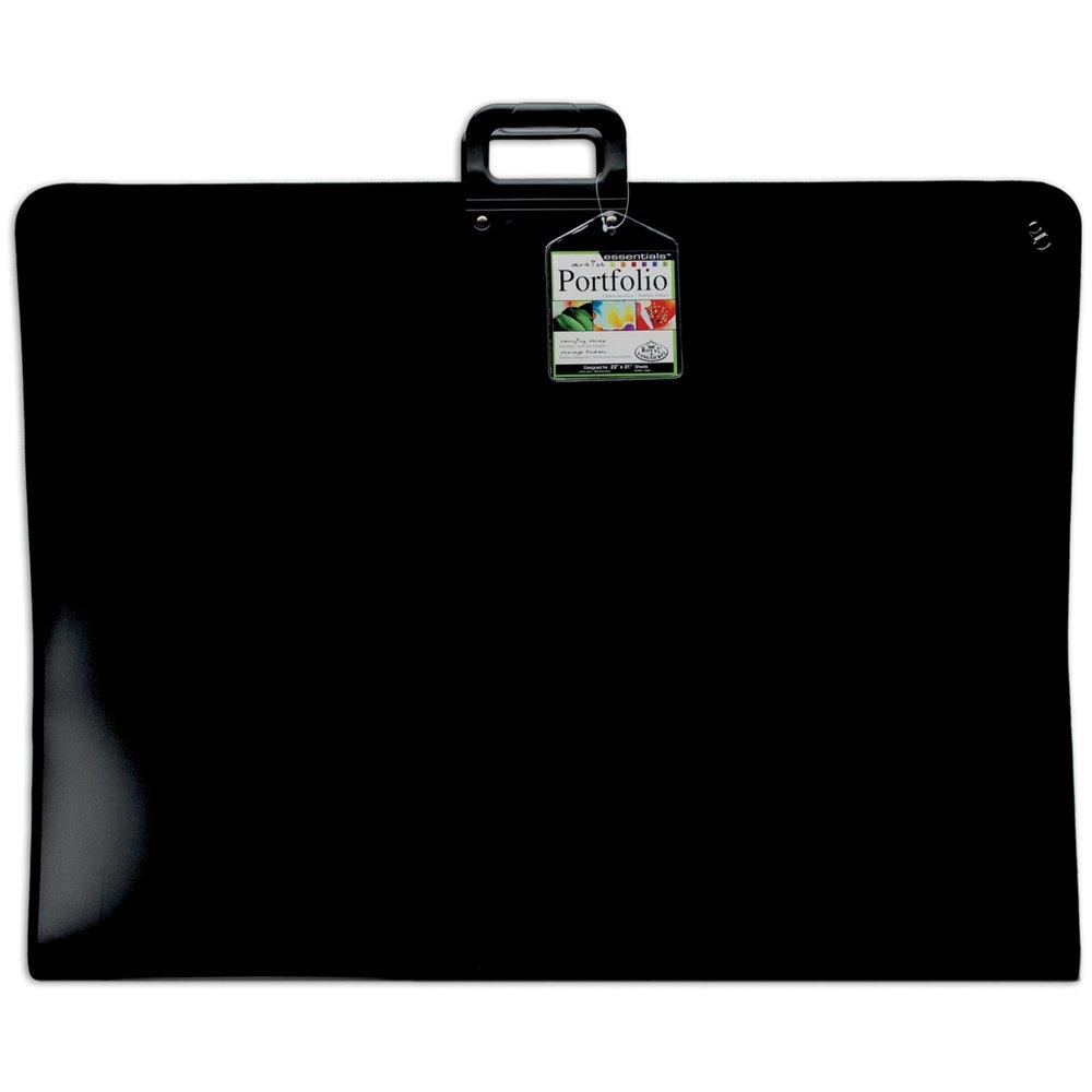 Royal Brosse Rigide en Nylon Noir portfolio-24-inch x 91cm