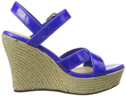 UGG Jackilyn - Tira de tobillo de cuero mujer azul - Blau (IBT)