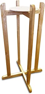 Aquanation Floor Wood Stand Natural Varnish, 27