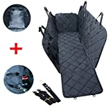 lychee Dog Car Seat Cover Waterproof Pet Seat Cover with Seatbelt Leash and Storage Bag,Durable Anti-Scratch & Nonslip, Perfect for Cars, SUVs and Trucks in Universal Size Review