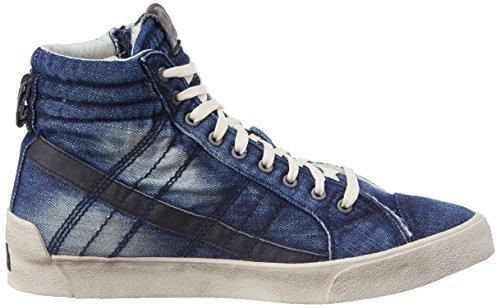 Diesel Mens D-string Plus Fashion Sneaker Indigo
