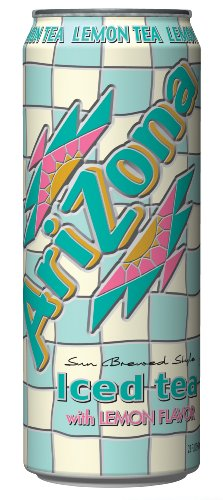 Beverage Ice Tea - Arizona Ice Tea Lemon Flavor, 23-Ounce (Pack Of 24)