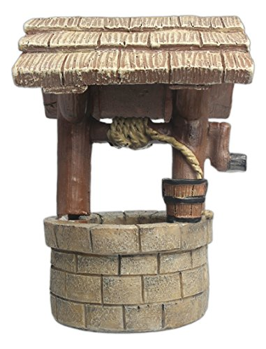 MayRich 5″ Resin Miniature Fairy Wishing Well Garden Statue Review