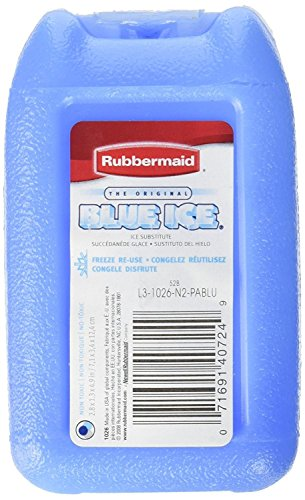 Rubbermaid Blue Ice Reusable Ice Packs, Mini, 2 Pack