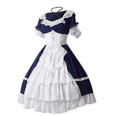 Amyline Disfraz Vestido Halloween, Tallas Grandes Vestido De ...
