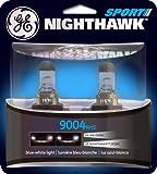 silver star headlights 9004 - GE Lighting 9004NHS/BP2 Nighthawk Sport Halogen Replacement Bulbs, 2-Pack