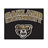 CollegeFanGear Oakland University Small Magnet 'Oakland University with Grizzly Head'