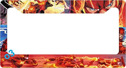 dc comics license plate frame - 2